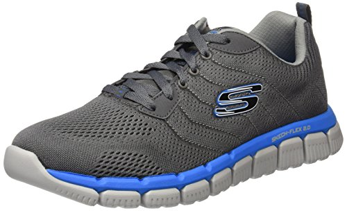 Multisport Shoes Men Grey 9 52619 Charcoal Outdoor AU Blue Skechers xgE4ZInS4