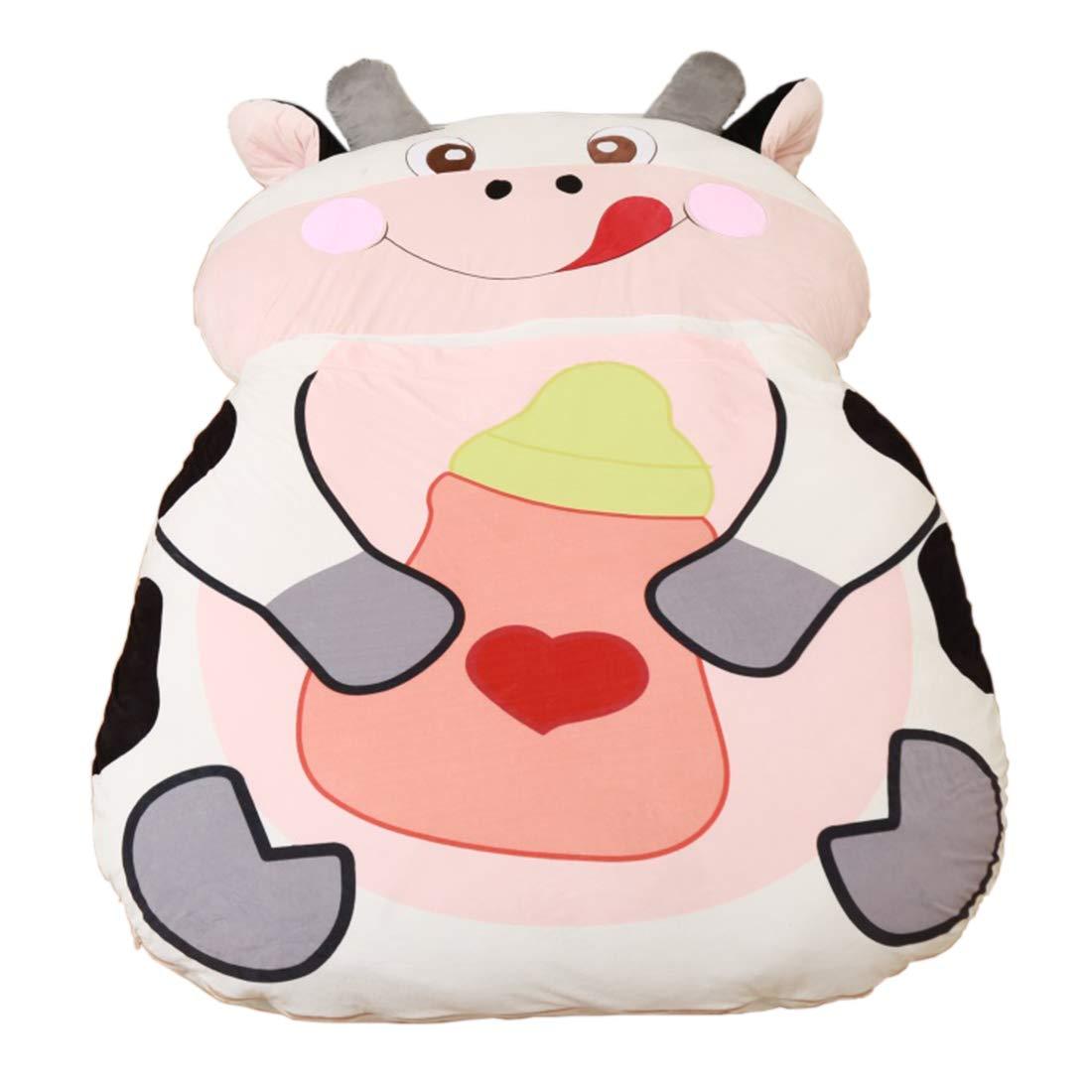 Alkem Christmas Cartoon Cow Bed Double Bean Bag Soft Mattress for Children by Alkem (Image #1)