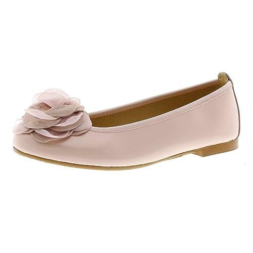 2f5276ecd72 CLARYS Manoletinas Comunión 5383 Charol Rosa  Amazon.es  Zapatos y  complementos