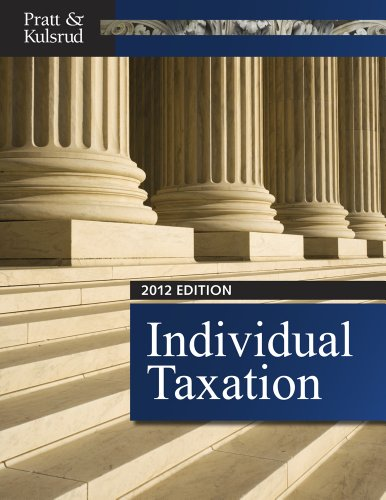 Individual Taxation 2012 (with CPA Excel Printed Access Card)