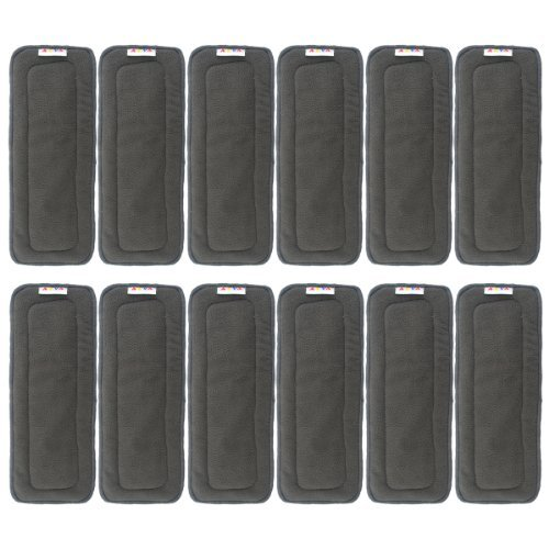 AlVABABY Charcoal Bamboo Inserts