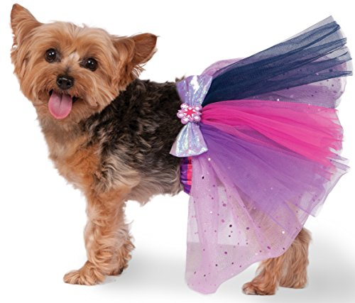 Rubies Costume 580497_M-L My Little Pony Twilight Sparkle Pet Tutu, (Ballerina Dog Costumes)