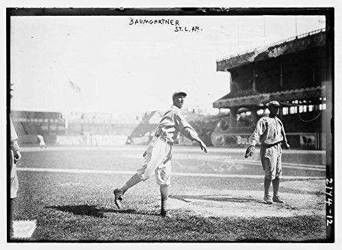1913-photo-george-baumgardner-st-louis-al-baseball