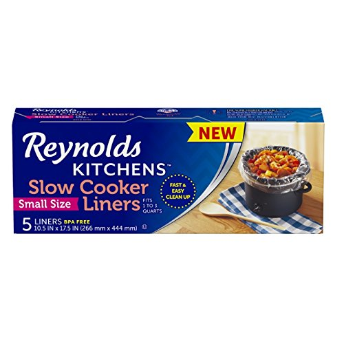 Price comparison product image Reynolds Kitchens Slow Cooker Liners, (Small Size, 5 Count)