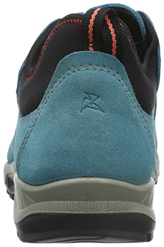 Ecco Yura, Chaussures Multisport Outdoor Femme, Schwarz (BLACK51052) Bleu (Black/Blue Moon56137)