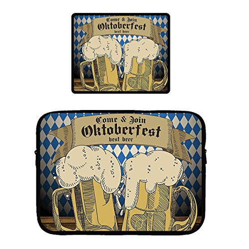 Beach Surfers Come to Join Oktoberfest Best Beer