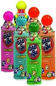 Six Pack 1.5oz Mini Tip Dab-O-Ink Assorted Bingo Dauber