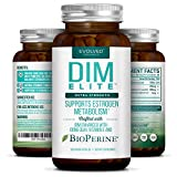 Extra Strength DIM 250mg - Plus Dong Quai, Vitamin E & BioPerine (2-4 month supply) - DIM Supplement for Menopause Relief, PCOS Treatment & Hormonal Acne - Aromatase Inhibitor - 120 Vegan Caps ​