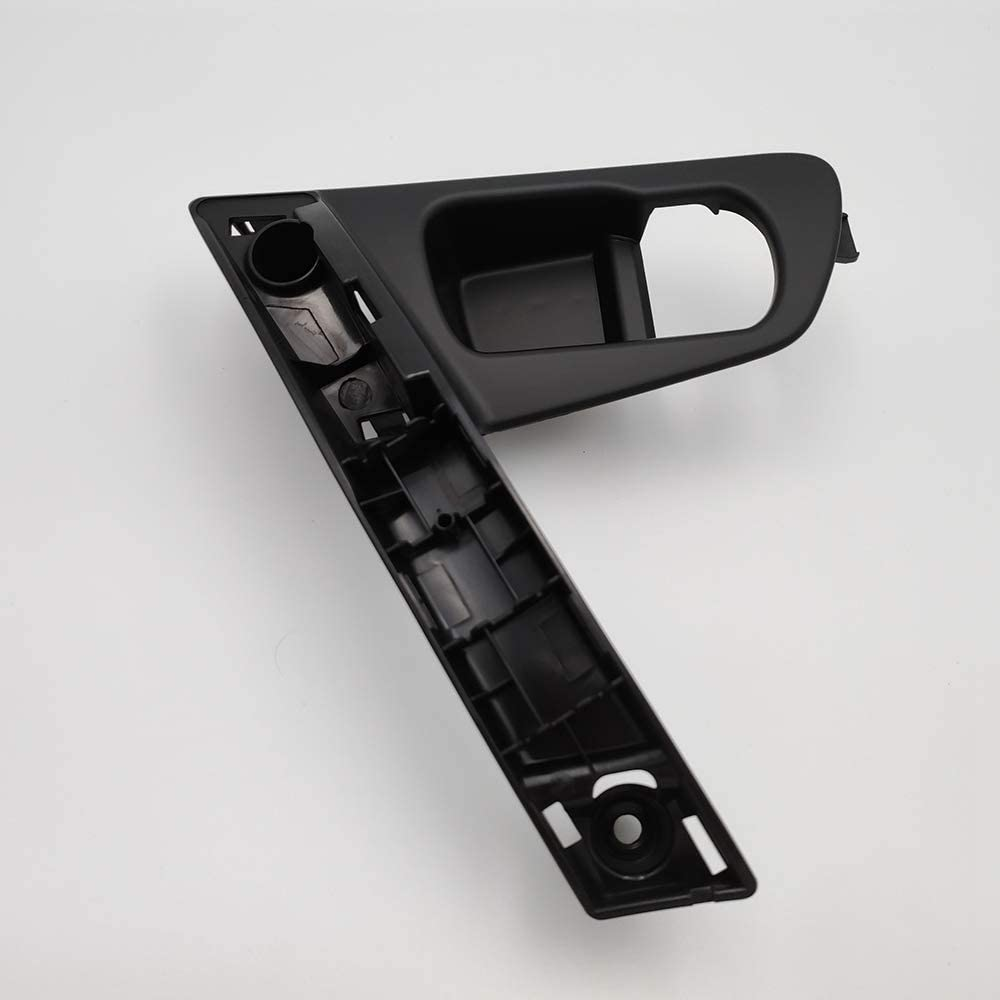 Semoic Car Door Handle Base Internal Handle Silver Handle Cover for QASHQAI J10 2007-2014