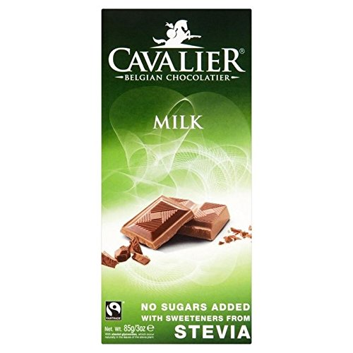 Cavalier Milk Chocolate Bar 85g - Pack of 2 (Cavalier Chocolate compare prices)