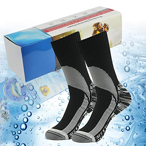 Thanksgiving Day Gift Socks, RANDY SUN Women's Mid Weight Mid Length Athletic Running Socks Black 2 Pairs Size S