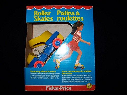 Fisher Price 1983 Roller Skates #185