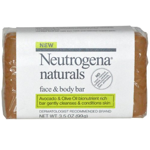 Neutrogena Naturals Face Bar 3 5 Count