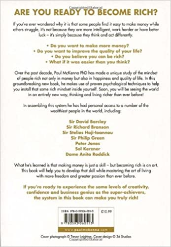 I Can Make You Rich: Paul McKenna: 8601300352510: Amazon.com: Books