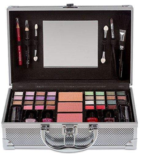 Juego de maquillaje en caja Gris