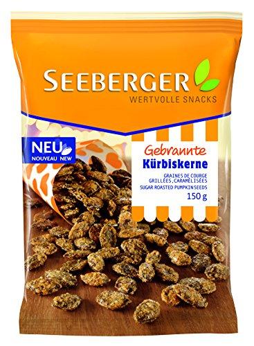 Seeberger Gebrannte Kürbiskerne, 6er Pack (6 x 150 g)