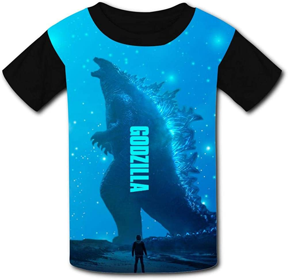 Teens Unisex King/_G0d/_ZIL/_la T Shirt Kids Tee Shirt Children Short Sleeve T Shirt for Boy Girl
