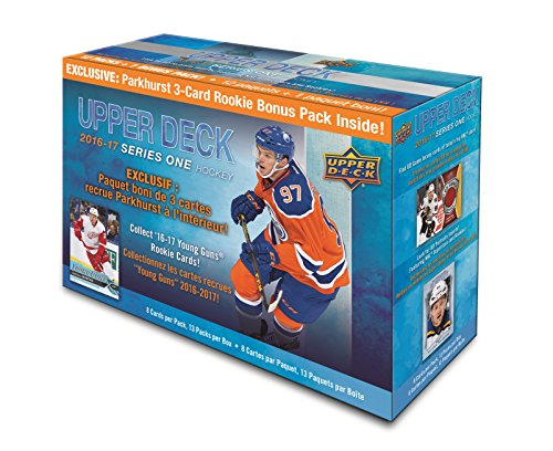 Upper Deck 2016-2017 Series 1 Hockey Trading Cards Exclusive Box