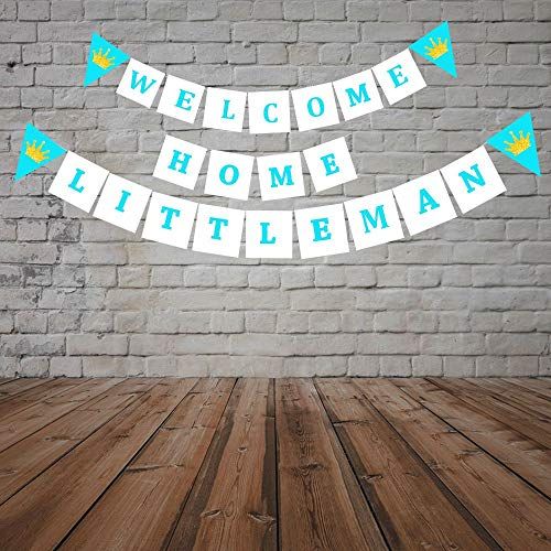 Welcome Home Baby Party Decorations (Party Propz Baby Boy Arrival Banner for Baby Boy Arrival Decoration Or Welcome Baby Boy)