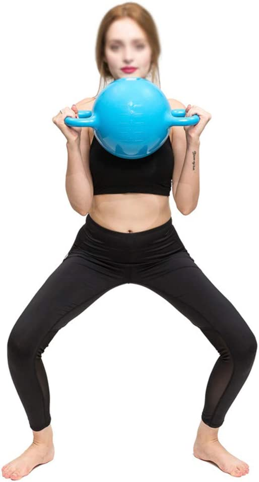 Iboing Kettlebell de Peso Lleno de Agua Peso Ajustable portátiles Kettlebell de Viaje Equipo de Entrenamiento de Fitness