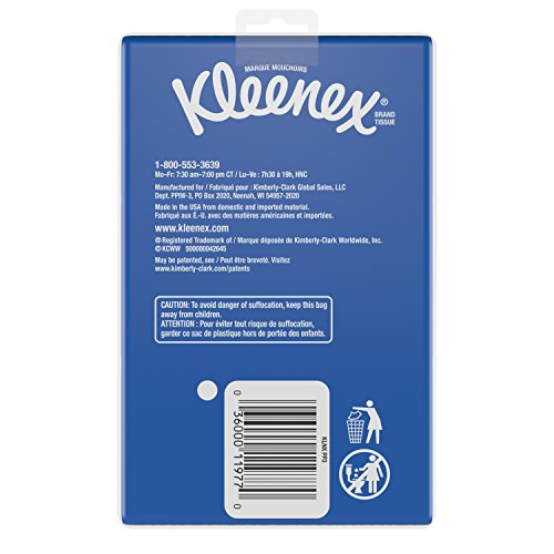 51NziEzhVvL - Kleenex Trusted Care Facial Tissues, 20 Packs of 3 On-The-Go Travel Packs, 10 Tissues per Pack (600 Tissues Total)