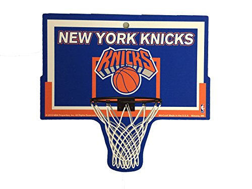 New York Knicks NBA Basketball Hoop Street Sign by FGCSports