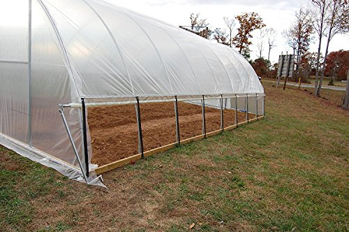 Sunview Greenhouse Clear Plastic Film Polyethylene Cover 4 Year 6 Mil 12ft X 25ft by Sunview (Image #4)