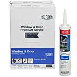 DuPont 07800 12 Pack 10.1 oz. Window Door and Siding Sealant with Kevlar, White
