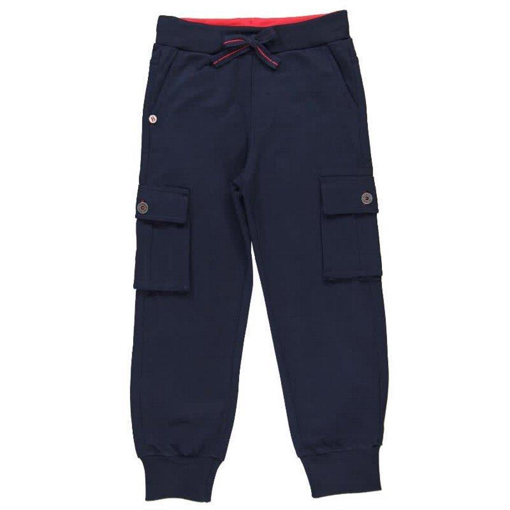 Boboli Cotton Navy Pants