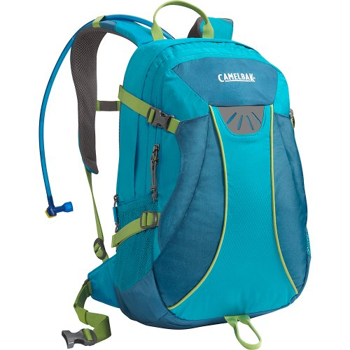 Camelbak Women's Helena Hydration Pack (100-Ounce/ 1281 Cubic-Inch, Caneel Bay/Lyon's Blue), Outdoor Stuffs