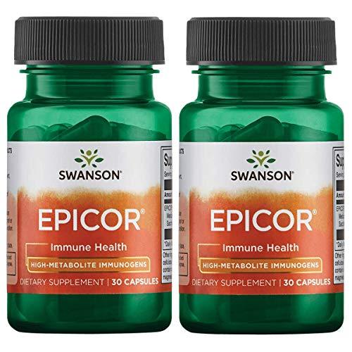 Swanson Epicor 500 mg 30 Caps 2 Pack