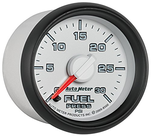 Auto Meter 8560 Factory Match 2-1/16'' 0-30 PSI Fuel Pressure for Dodge by Auto Meter (Image #3)