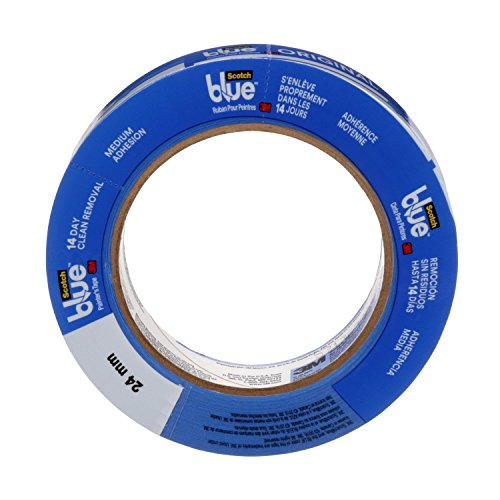 3M Scotch-Blue Painters Masking Tape 2090-.75A MMM209075A (Pack of 12)