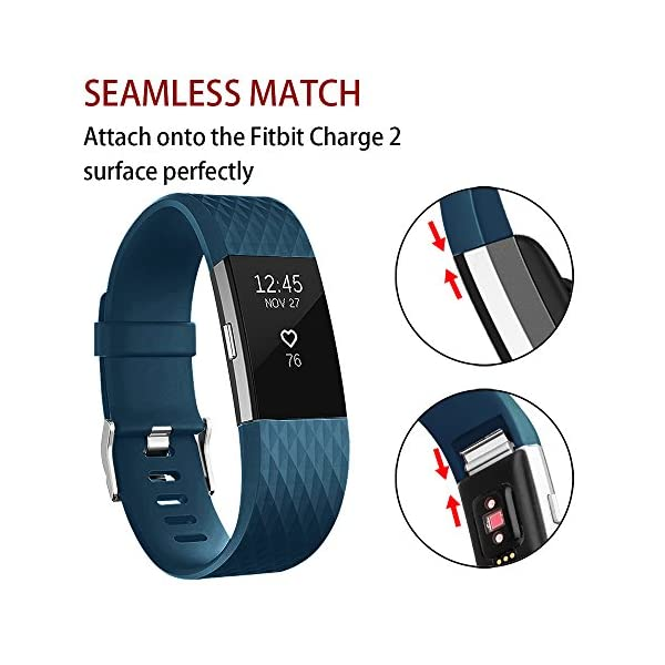 POY-Replacement-Bands-Compatible-for-Fitbit-Charge-2-Classic-Special-Edition-Adjustable-Sport-Wristbands
