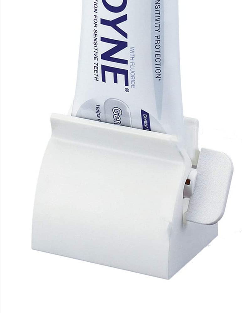 Rolling Tube Toothpaste Squeezer Toothpaste Easy Dispenser Seat Holder Stand/_WK