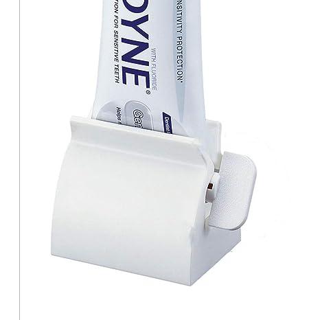 Isuper Creativa Pasta de Dientes exprimidor de balanceo Tubo de Crema Dental dispensador del exprimidor de