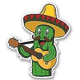 2 x 30cm- 300mm Mexican Cactus Vinyl SELF ADHESIVE STICKER Decal Laptop Travel Luggage Car iPad Sign Fun #4703