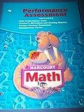 Performance Assessment Math, Harcourt School Publishers Staff, 0153368578