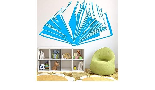 WSLIUXU Libro creativo para niños Patrón Pegatinas de pared ...