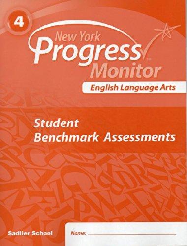 Download New York Progress Monitor English Language Arts Student Benchmark Assessments 4 ebook
