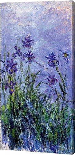 Claude Monet Irises (Lilac Irises by Claude Monet - 8