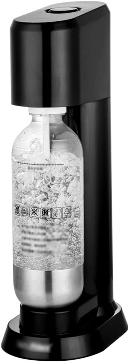 LTLWSH Kit para Hacer Agua espumosa, máquina para Hacer Agua de Soda con 2 Botellas de Agua de 1 l sin BPA, máquina de Agua carbonatada con Protector antigoteo, sin Pilas: Amazon.es