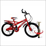 Speed Bird K30 Child Cycle - Kids Sports Bicycle for Boys & Girls - Age Group 6-9 (Red & Black)