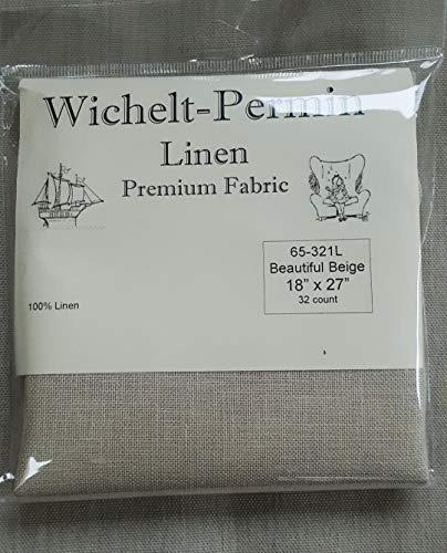 - Wichelt-Permin Premium Linen Cross Stitch Fabric 18
