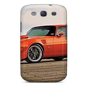 lintao diy Galaxy S3 Case Cover - Slim Fit Tpu Protector Shock Absorbent Case (1972 Pontiac Tran Am)