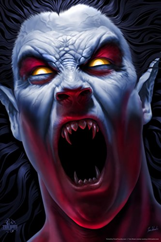 The Awakening Vampire Tom Wood Fantasy Art Poster