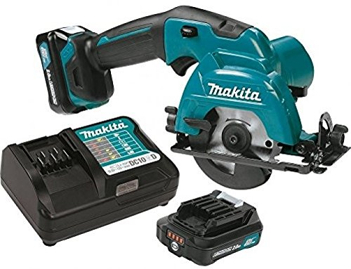 Makita SH02R1 12V Max CXT Lithium-Ion Cordless Circular Saw Kit, 3-3/8 .#GH45843 3468-T34562FD675907 by Nessagro