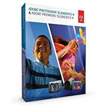 Adobe Photoshop Elements 9 AND Premiere Elements 9 (PC Windows/Mac) for 2 PC - Download [e-Delivery]