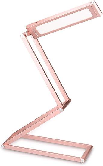 kwmobile Lámparas LED para mesa de noche de aluminio - Lámpara de ...