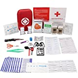 174-Pcs-First-Aid-Kit-Survival-Kit-Monoki-Emergency-Survival-Kit-Medical-Supplies-Trauma-Bag-Safety-First-Aid-Kit-for-Home-Office-School-Car-Boat-Travel-Camping-Hiking-Sports-Adventures